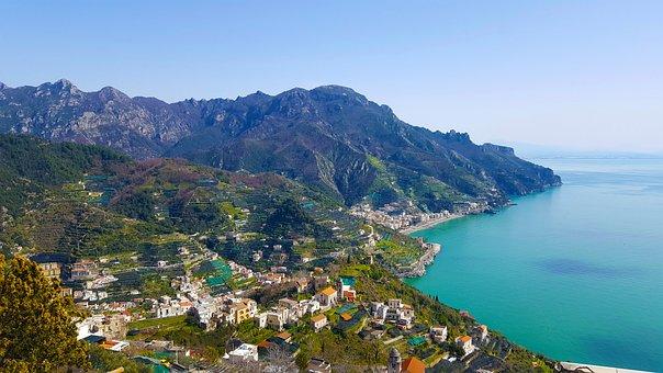 Amalfi Coast, Costa, Campania, Beach, Salerno