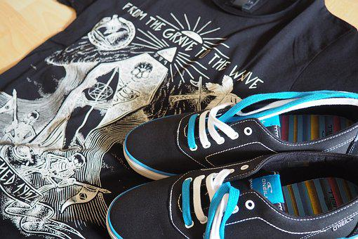 Boots, Clothing, Sneakers, Summer, Fashion, Print