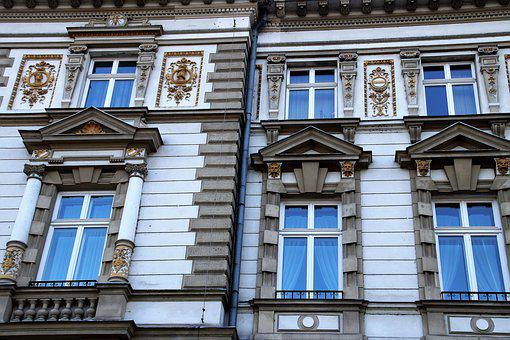 Facade, Old House, Architecture, Figure, Monuments