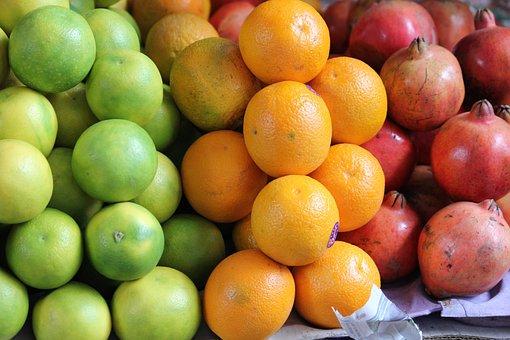 Fruit, Exotic, India, Exotic Fruits, Colorful, Market