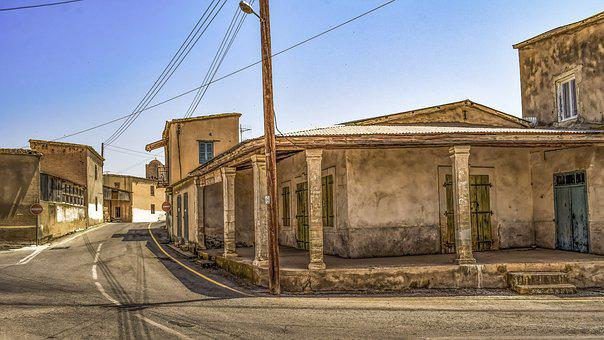 Street, Houses, Old, Architecture, Decay, Village