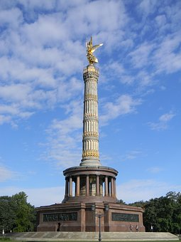 Victory Pillar, Berlin, Monument, Landmark