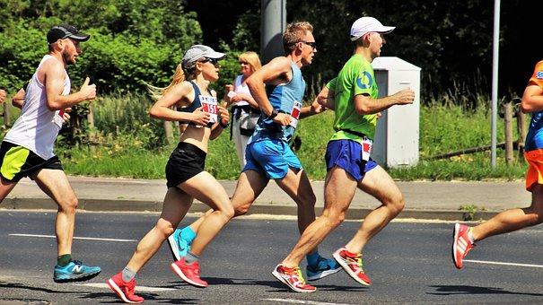 Total, Jogging, Marathon, Games, Race, Stopwatch, Sport
