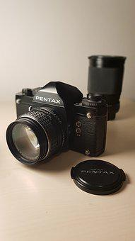 Pentax, Reflex Camera, Camera, Optical, Objective