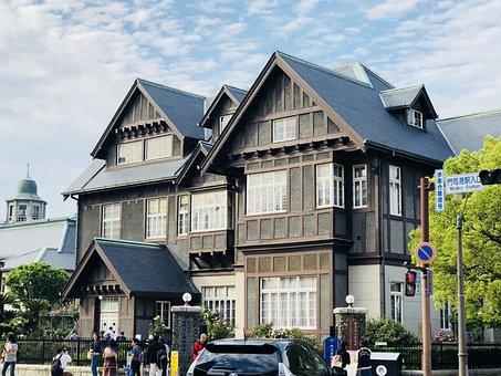 Western-style, Moji, Retro, Old Mitsui Club, Japan