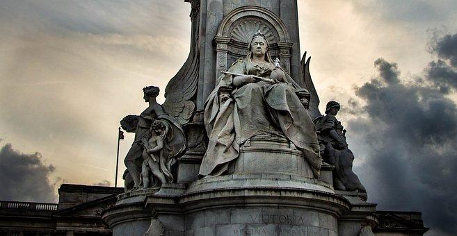 London, Victoria, England, Park, Buckingham, Monument