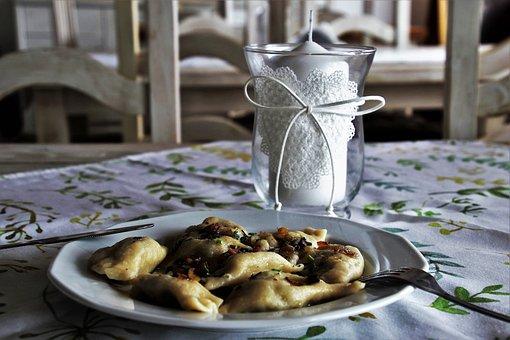 Dumplings, Polish Kitchen, Dish, Pierogi Ruskie, Taste