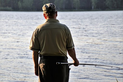Lake, One, Fishing, Water, Nature, Relaxation, Hunting