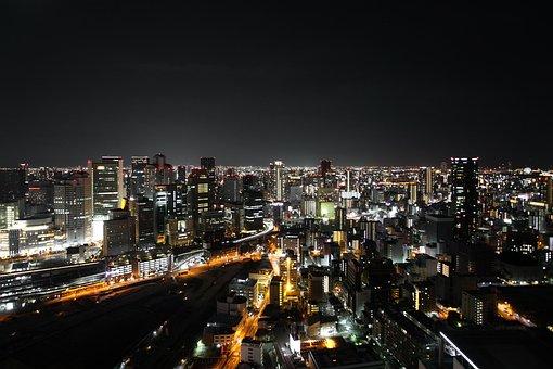 Night, City, City At Night, Urban, Skyline, Cityscape