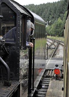 Train, Steam Train, Antique, Historical, Yorkshire