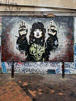 Graffiti, Art, Wall, Artistic, Street-art, Mural, Urban