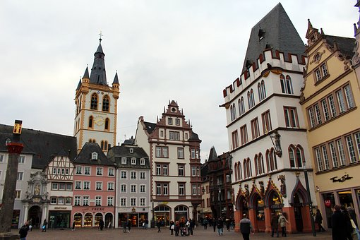 Trier, Main Market, Old Town, Places Of Interest