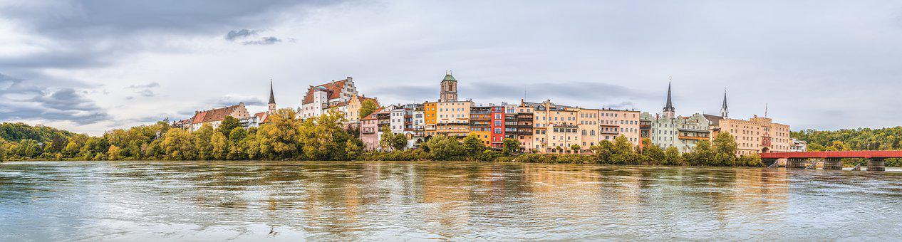 Wasserburg, Wasserburg Am Inn, Inn, River, Old Town