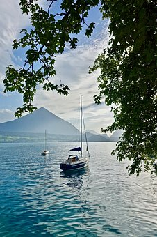 Yacht, Boat, Marine, Tranquil, Sailing, Landscape