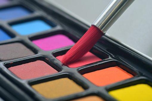 Brush, Watercolor, Paint, Art, Color, Colorful