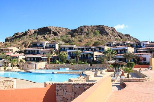 Cape Verde, Boa Vista, Hotel Marine Club Beach Resort