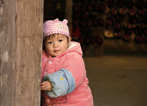 Children, Huang Yao Ancient Town