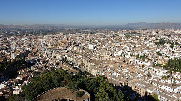City, Old, Cities, Tourism, Granada Cathedral