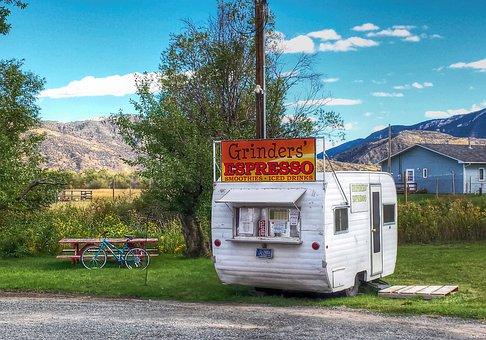 Montana Espresso Stand, Coffee, Espresso, Drive In