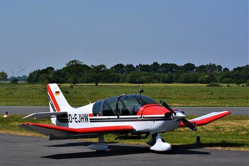 Aircraft, Airport, Nüttermoor, D-ejhw, Flyer
