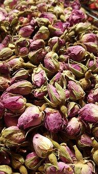 Dried Roses, Tea, Herbal, Flower, Rose, Healthy