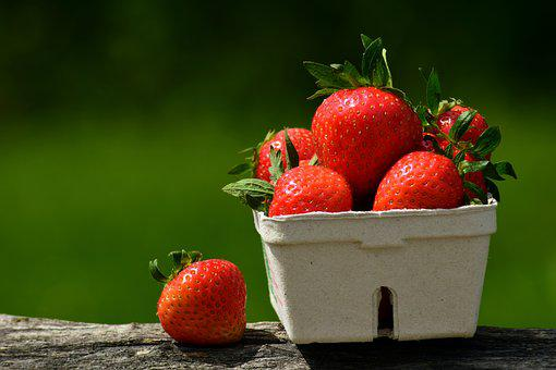 Strawberry, Fruit, Red, Sweet, Delicious, Food, Eat