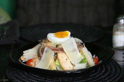 Salad, Entry, Flat, Dessert, Egg, Parmesan, Tomato
