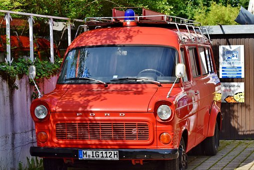 Fire Truck, Fire, Vehicles, Fire Fighting, Red, Vehicle
