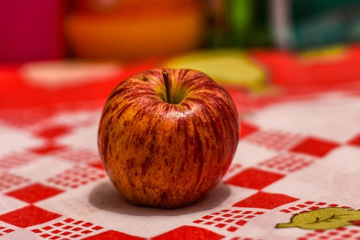 Apple, Fruit, Healthy, Red