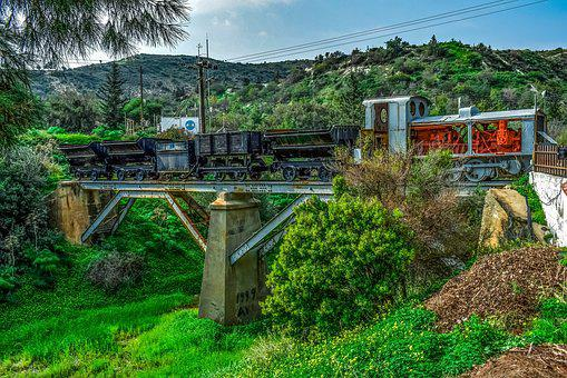 Train, Mine Train, Bridge, Transportation, Wagon