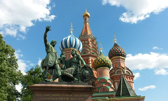 Moscow, Russia, Monument