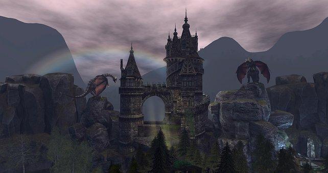 Mystical, Fantasy, Dragons, Fairytale, Romantic