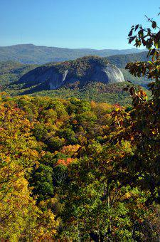 Looking Glass Mountain, Mountain, Nature, Fall