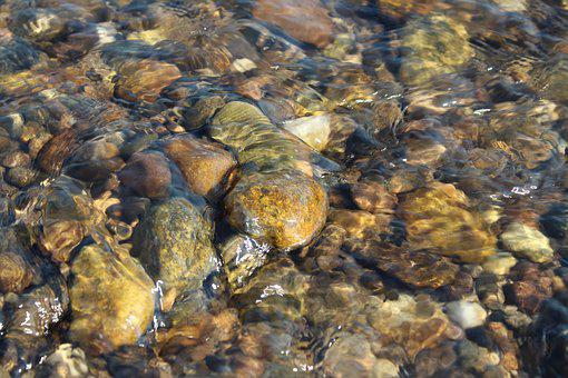 Stone, Water, Nature, River