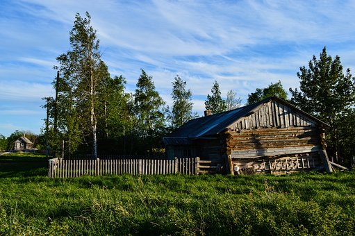 North, Northern Architecture, Wooden House, Old House