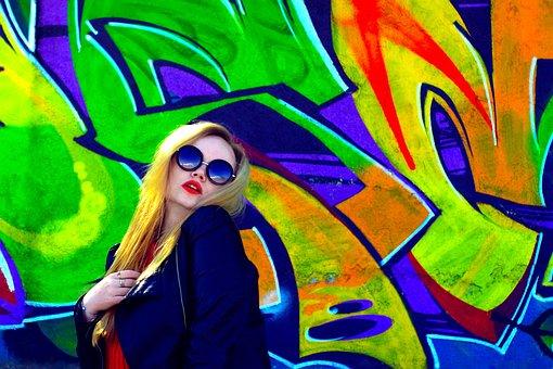 Girl, Portrait, Wall, Style, Model, Girl Model, Female