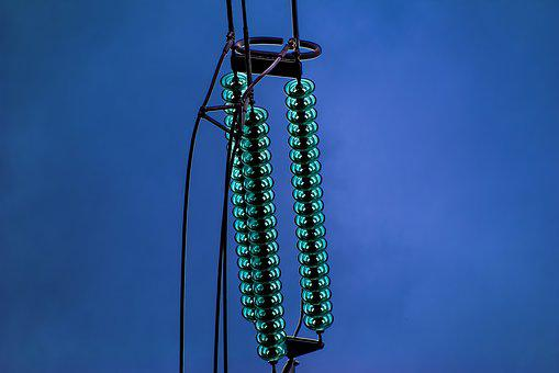 Electric, Power, Energy, Pylon, Detail, Insulator