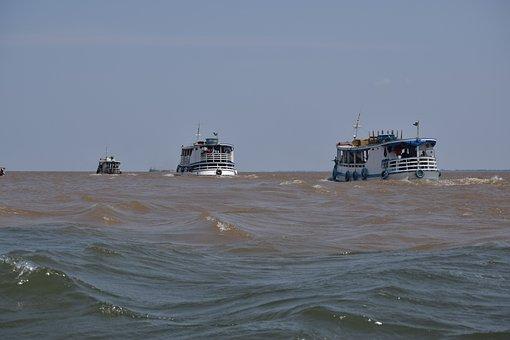 Rio, River, Amazon, Boats, Boat
