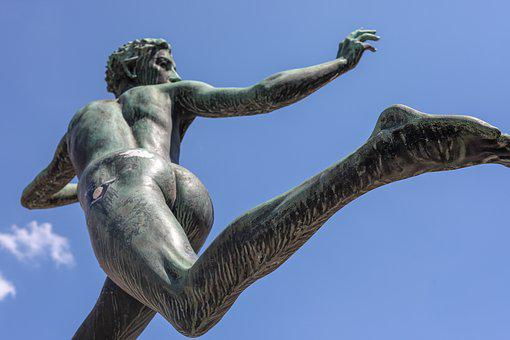 Statue, Human, Movement, Race, Run, Run Away, Sprint