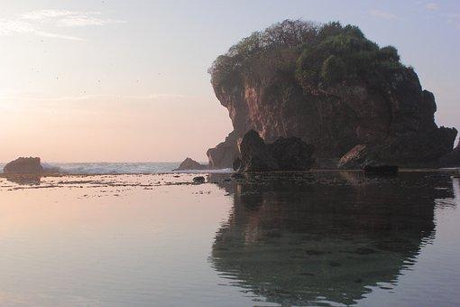 Beach, Sunrise, Sunset, Ocean, Sunset Beach, Sky, Sea