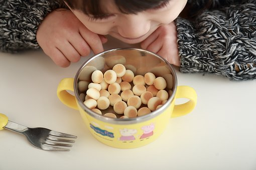 Children's Tableware, Surface Of The Bowl