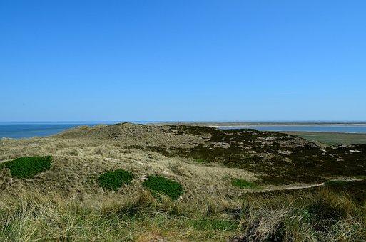 Sylt, Elbow, Dune Landscape, Lighthouse, North Sea