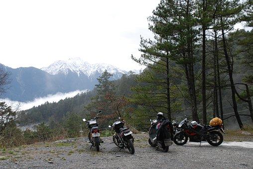 Taiwan, Snow, Motorcycle, Mt, Alpine, Locomotive, Gear