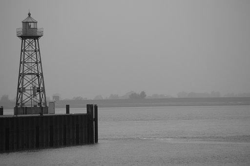 Lighthouse, Daymark, Technology, Maritime, Coast