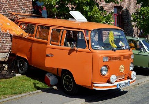Volkswagen Combi, Volkswagen Type 2, Van, Mini Bus