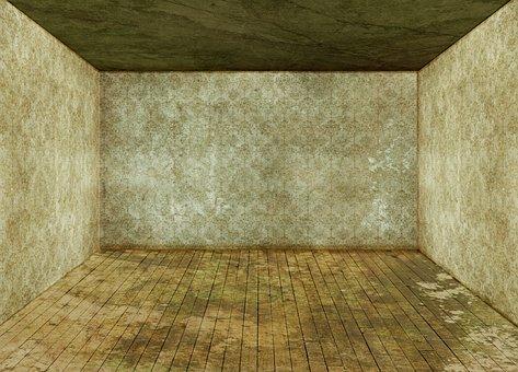 Space, Empty, 3d, Background, Wood Floor, Wallpaper