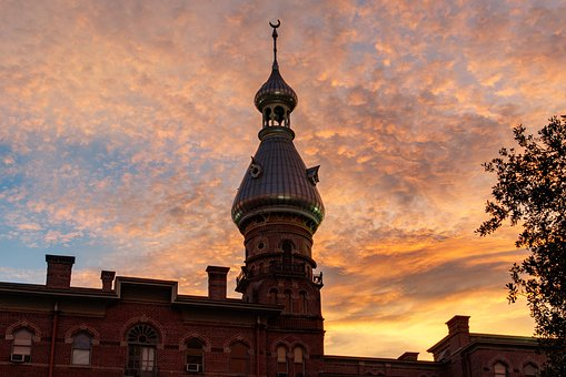 Minaret, Sunset, Landmark, Evening, Dome, Architecture