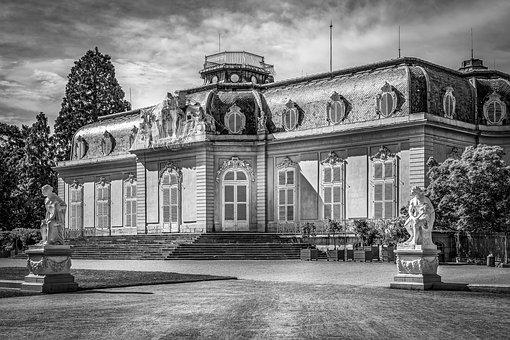 Palace, Benrath, Dusseldorf, Germany, Architecture
