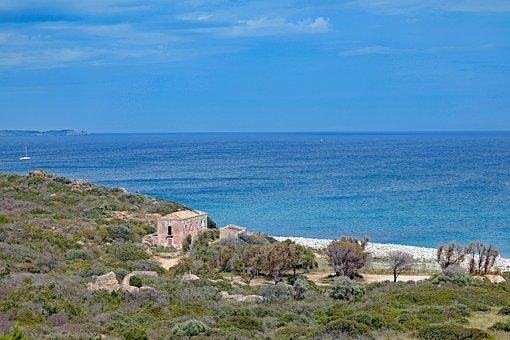 Sardinia, South East Coast, Beach, Capo Di Carbonara