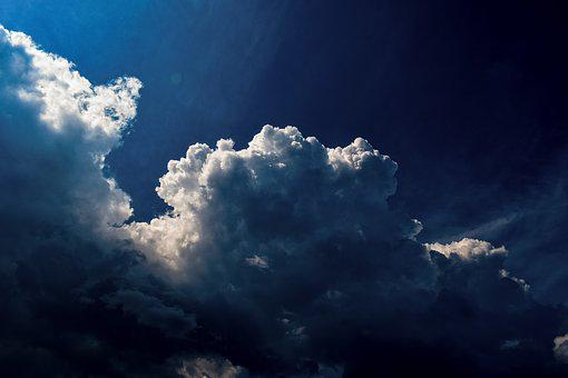 Clouds, Dramatic, Cumulus, Sky, Weather, Nature, Light